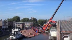 네덜란드 대형 크레인 사고의