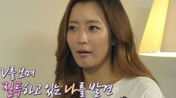 김희선 '출산 후 우울증, 살찌고