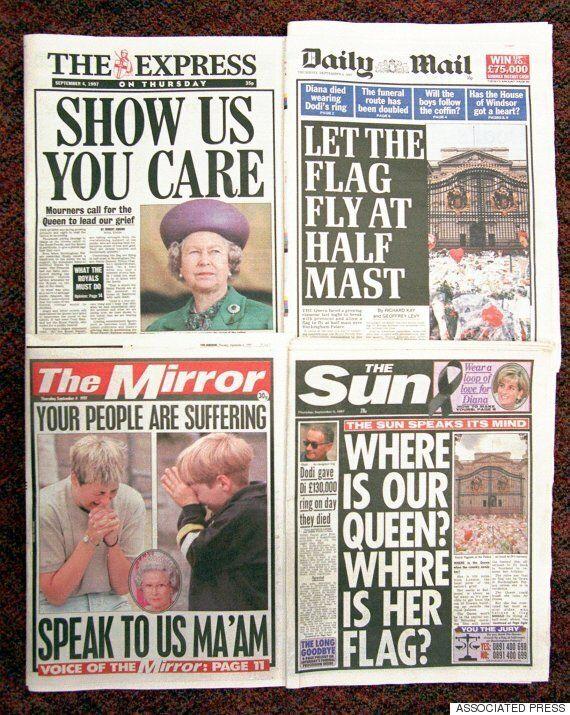 영국 여왕의 첫 반응 : 다이애나 사고?