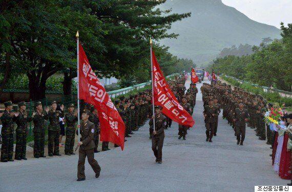 북한군, 박 대통령 사진 과녁으로 만들어 실탄
