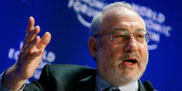 Joseph E. Stiglitz, Professor, Columbia University, USA, participates in a session at the World Economic...