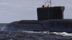 스웨덴 영해에서 러시아제 추정 잠수함