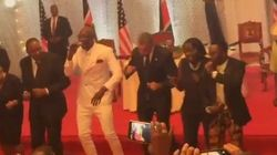 오바마, 케냐에서 멋진 댄스를