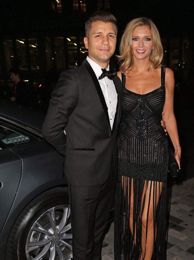 Rachel with husband Pasha
