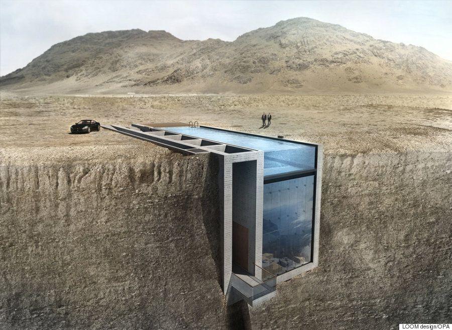 절벽에 심은 아름다운 집, 건축비용은 얼마나