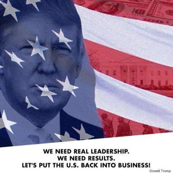 미 공화당 대선 후보 도널드 트럼프가 터트린 7개의