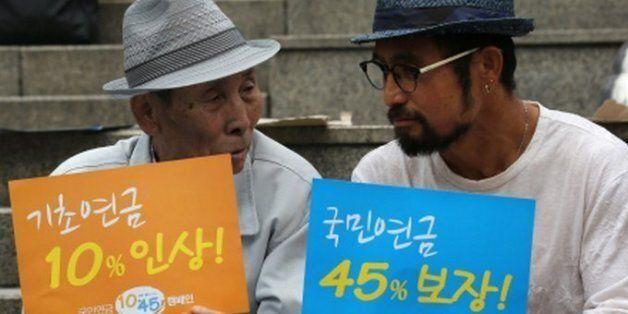 기초연금 1년: 노인 소득 최대 15.4%