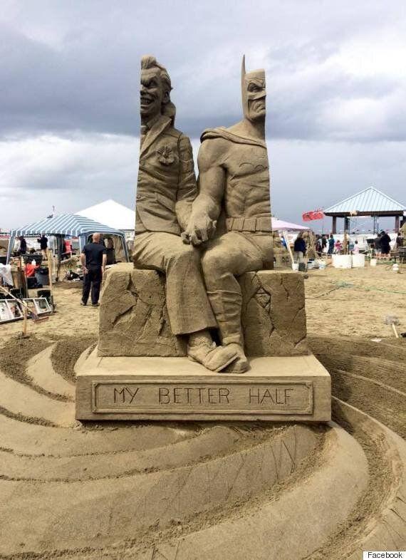 모래로 빚은 조커와