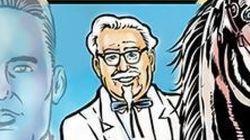 KFC 할아버지가 주인공인 코믹스