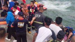 필리핀서 선박 전복돼 최소 36명