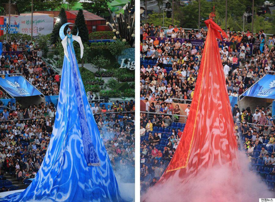 전 세계 대학생들의 대축제 '광주 유니버시아드'