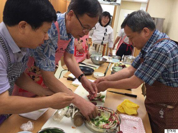 '삼식이' 탈출 선언 : 요리 배우는 중년