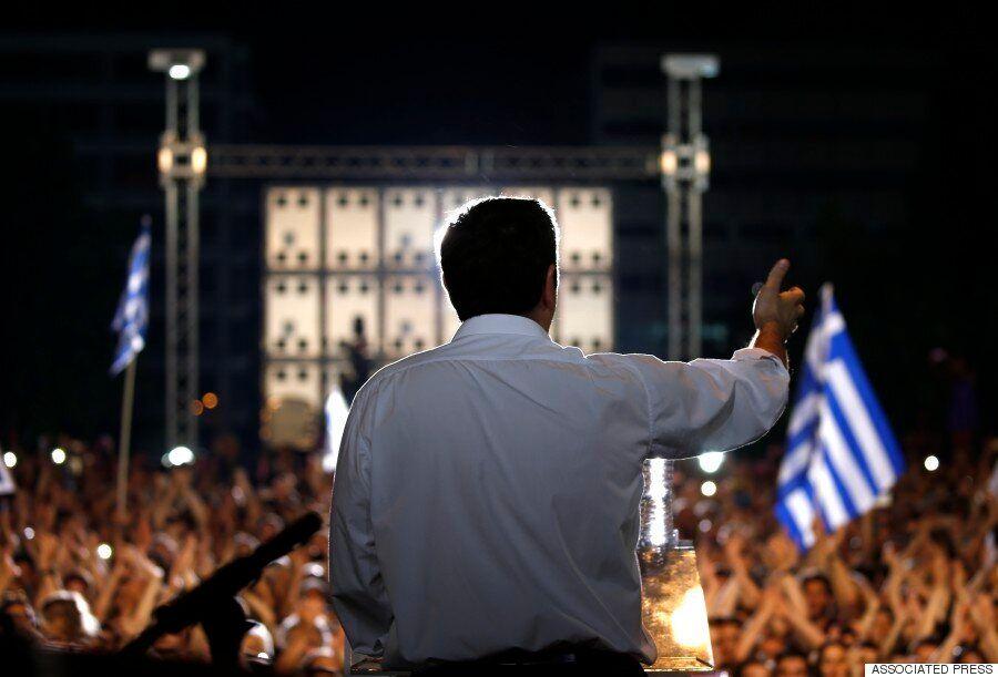 [화보] 그리스 국민투표 '운명의 날' : 반대냐