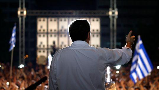 [화보] 그리스 국민투표 '운명의 날' : 반대?