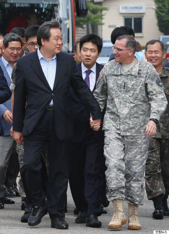 김무성, 주한미군사령관을 등에 업고 외친