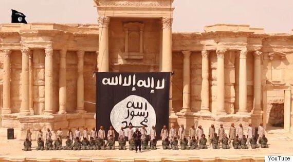 IS, 시리아군 집단 처형 영상