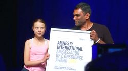 Greta Thunberg Receives Amnesty International Award For Climate