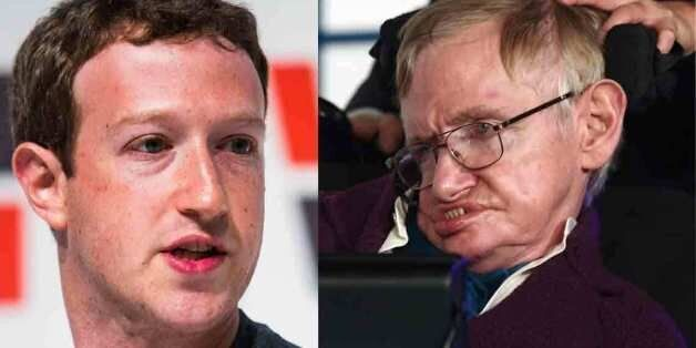 마크 주커버그와 스티븐 호킹이 페이스북 Q&A로 인간의 영생을