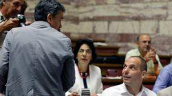 그리스 의회 토론 시작, 시리자 내분