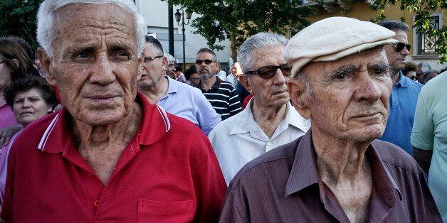 국민투표 앞둔 그리스 국민은