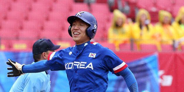 [U대회 야구] 한국, 14-6으로 미국 꺾고