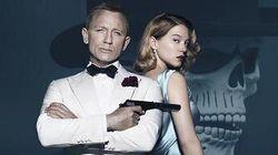 Les images du baiser de Léa Seydoux et Daniel Craig dans James