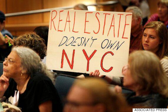 뉴욕시, 사상 처음으로 아파트 100만채 월세 인상률을