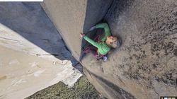 구글, 세계 최대 암벽에 오르는 스트리트 뷰
