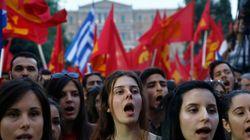 구제금융 국민투표, 그리스 의회를