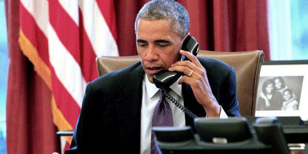 오바마, 게이에게 전화해