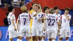 한국 여자축구대표팀 프랑스에 0-3