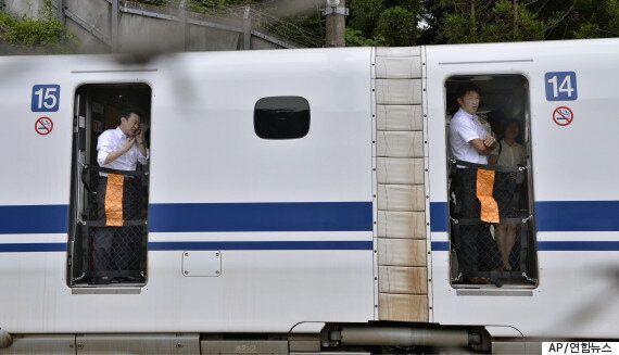 日 신칸센 열차 안에서 승객 분신, 2명