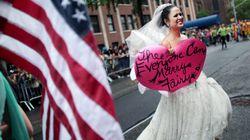전세계가 게이 프라이드 행진...'미국 동성결혼 전면인정'