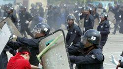 청와대 경비단 소속 경찰, 길가는 여성