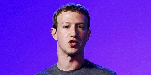 Facebook CEO Mark Zuckerberg addresses the internet.org summit in New Delhi, India, Thursday, Oct.9,...