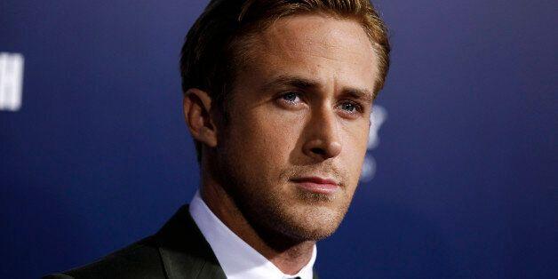 Cast member Ryan Gosling arrives at the premiere
