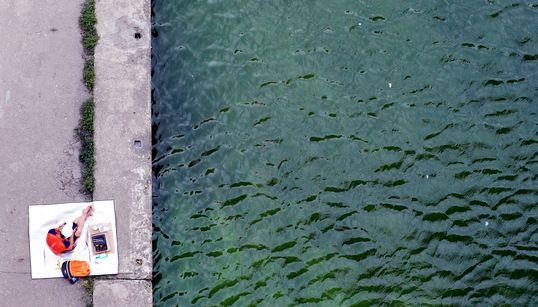 한강도 녹색으로