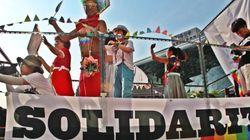 2015년 퀴어문화축제 퍼레이드