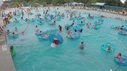미국 수영장 안전요원의 놀라운 구조