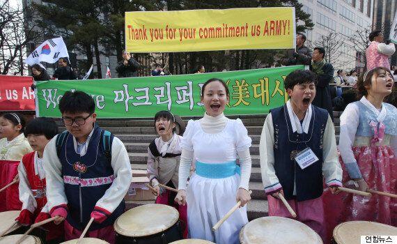 리퍼트 미 대사에게 '배신'당한 북춤, 발레단(영상,