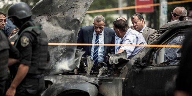 이집트 검찰총장, 폭탄 테러로 사망(사진,