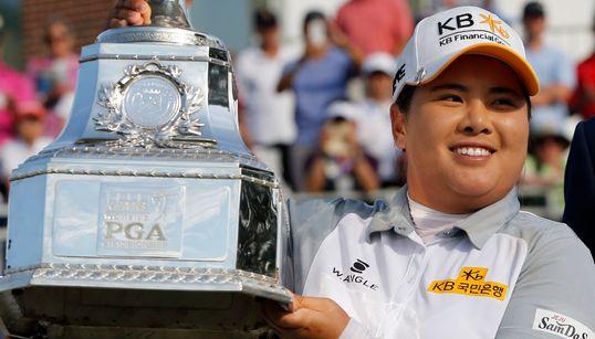박인비, 메이저 3연패·3개 대회 연속 우승 최초 달성(사진,