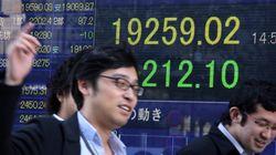 일본 기업들이 돈을 풀자 GDP가 상승하기