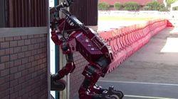 최신 로봇들의 슬랩스틱