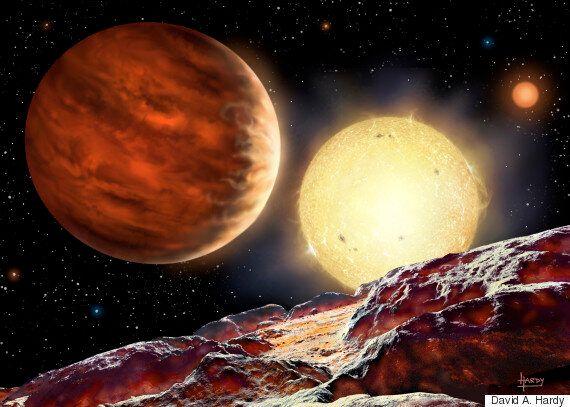 15세 영국 소년 목성 크기의 새로운 행성을