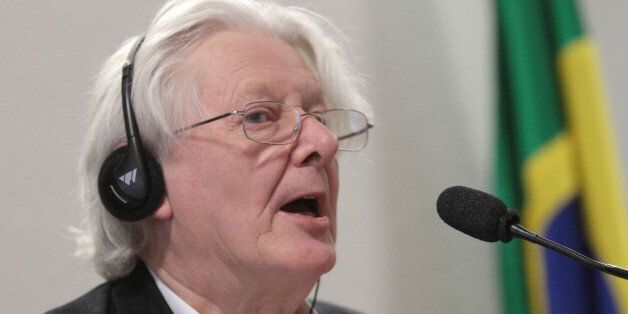 British author Andrew Jennings talks about corruption allegations involving FIFA and the Brazilian Football...