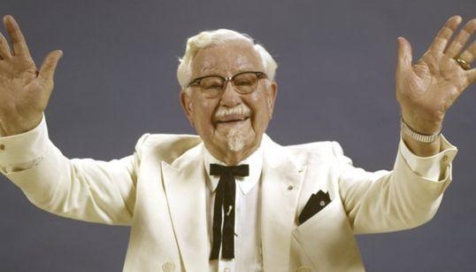 KFC가 공개한 KFC 할아버지의 미공개 사진