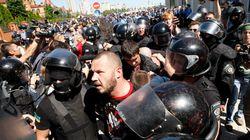 우크라이나 게이퍼레이드, 네오 나치 공격
