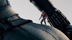 블랙 위도우가 등장한 '앤트맨'의 '엉큼한' 포스터