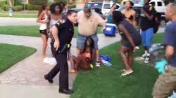 미국 경찰, 14세 흑인소녀를 무자비하게